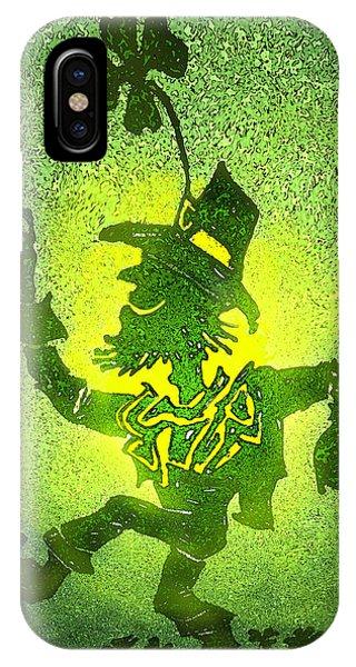 Leprechaun IPhone Case