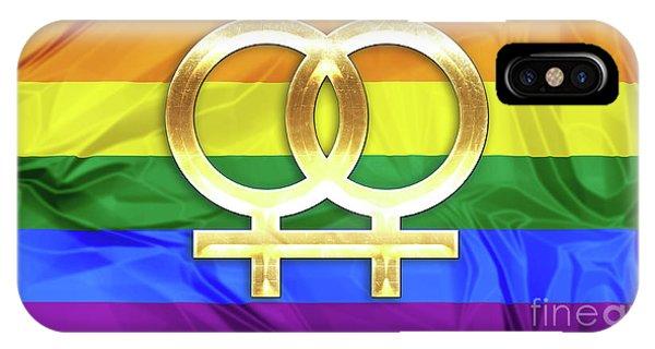 Lesbian Symbols IPhone Case