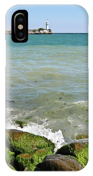 Lighthouse In Sea IPhone Case