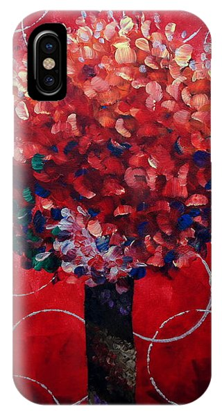 Lollipop Tree Red IPhone Case