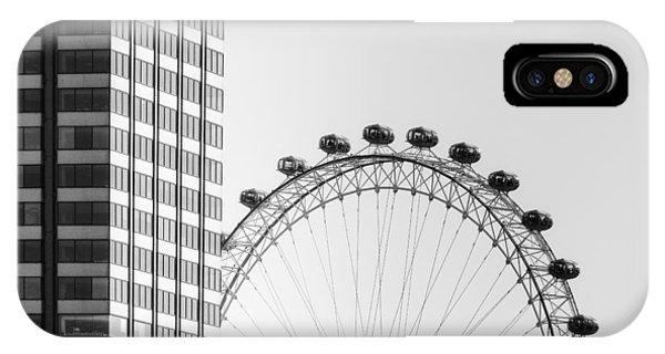 Greater London iPhone Case - London Eye by Joana Kruse