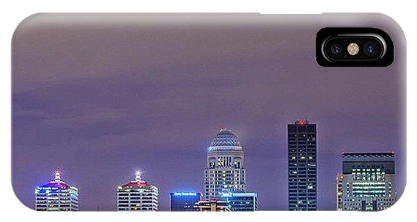 Ohio iPhone Case - #louisville #kentucky #kentuckiana by David Haskett