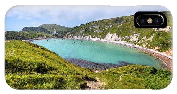 Dorset iPhone Case - Lulworth Cove - England by Joana Kruse