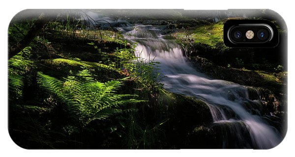Lynn Mill Waterfalls IPhone Case