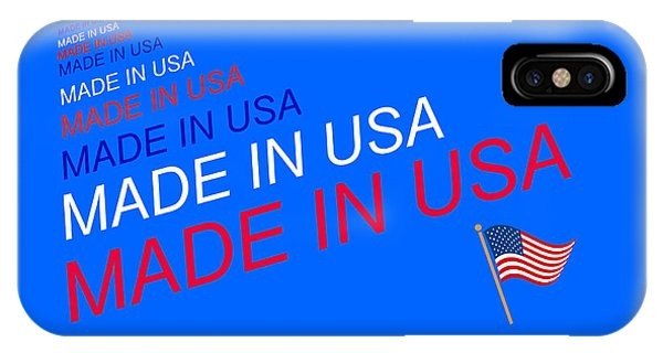 Made In Usa IPhone Case