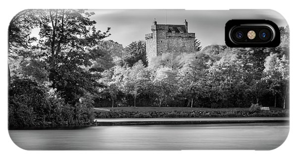 Mains Castle East Kilbride, Scotland IPhone Case