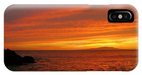 Makena Sunset IPhone Case