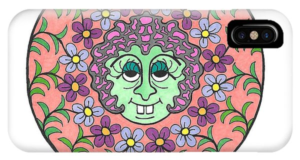 Goofy Green Witch IPhone Case