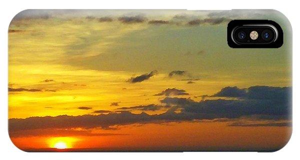 Extraordinary Maui Sunset IPhone Case
