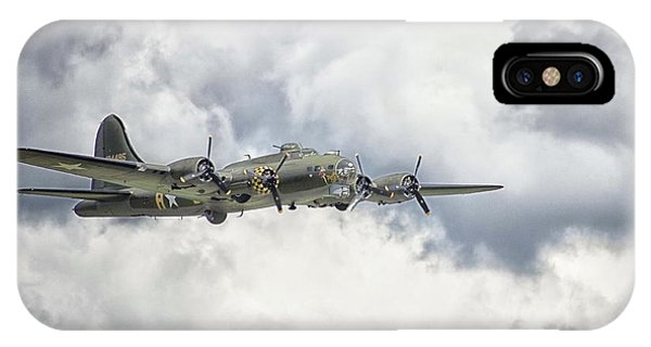 Bomber iPhone Case - Memphis Belle by Martin Newman