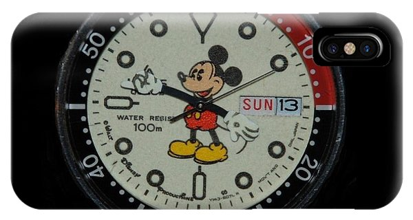 Mickey Mouse Watch Face IPhone Case