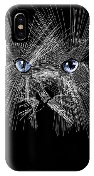 Mister Whiskers IPhone Case