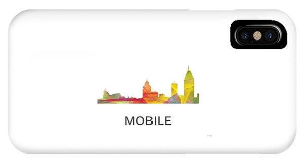 Mobile Alabama Skyline IPhone Case