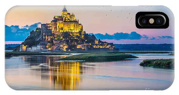 Mont Saint Michel IPhone Case