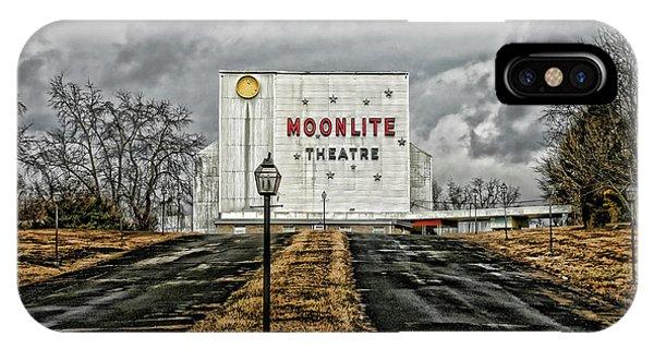 Moonlite Theatre IPhone Case