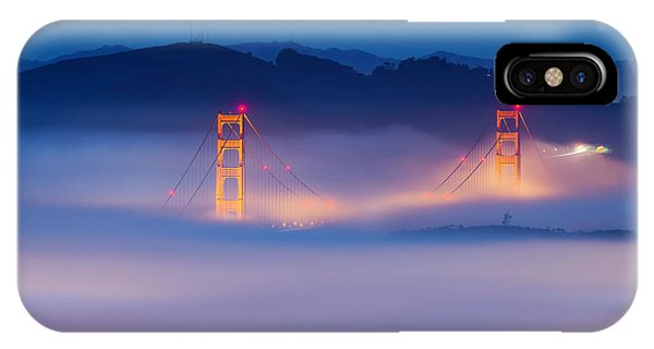 San Francisco iPhone Case - Morning Fog - Marin Headlands by David Yu