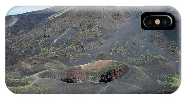 Mount Etna IPhone Case