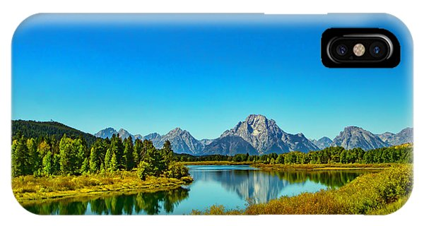 Mount Moran IPhone Case
