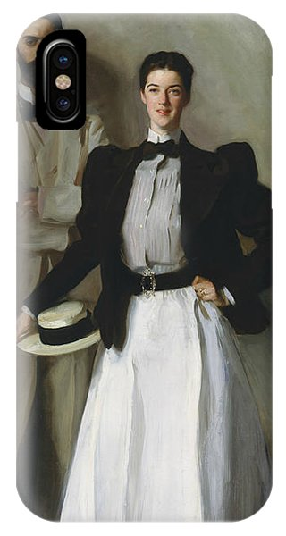 20th Century Man iPhone Case - Mr. And Mrs. I. N. Phelps Stokes by John Singer Sargent
