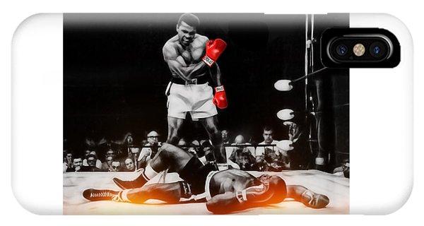 Muhammad Ali Art IPhone Case