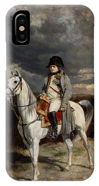 France iPhone Case - Napoleon Bonaparte On Horseback by War Is Hell Store