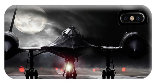 Blackbird iPhone Case - Night Moves by Peter Chilelli
