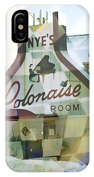 Nye's Polonaise Room IPhone Case