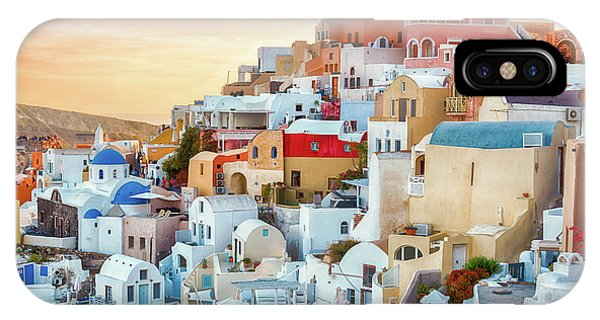 Oia, Santorini - Greece IPhone Case
