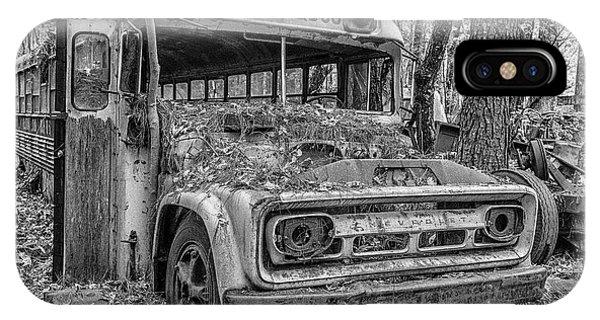 Old School Bus IPhone Case