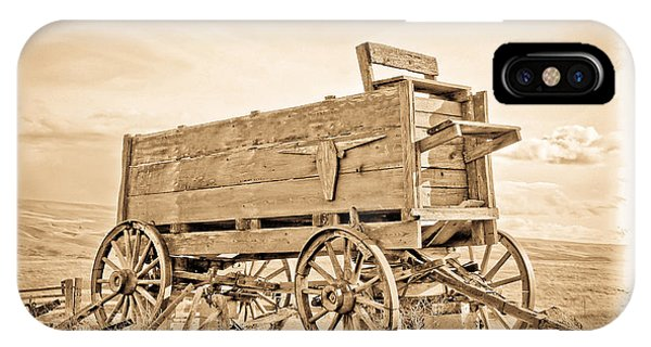 Old West Wagon  IPhone Case