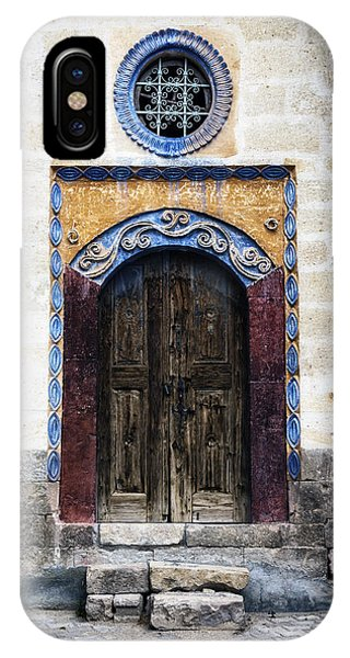 Wood Carving iPhone Case - Oriental House by Joana Kruse