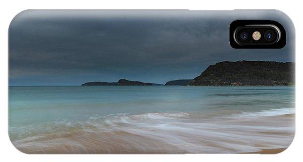 Overcast Cloudy Sunrise Seascape IPhone Case
