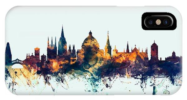 Oxford England Skyline IPhone Case