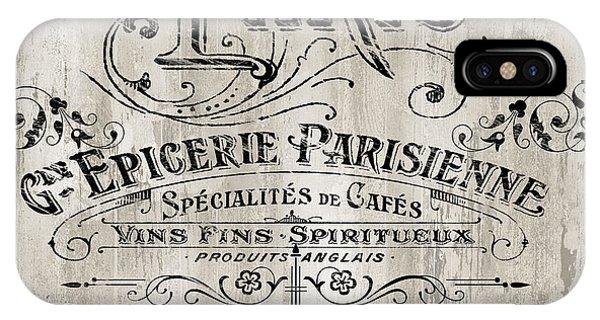Paris iPhone Case - Paris Bistro  by Mindy Sommers