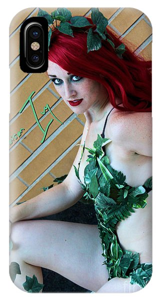 Poison Ivy -cosplay IPhone Case