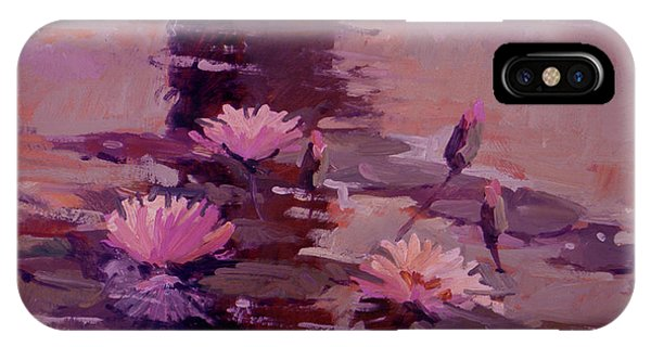 Pond Blossoms - Water Lilies IPhone Case