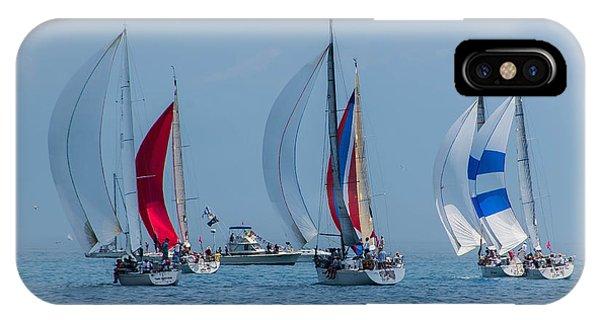 Port Huron To Mackinac Race 2015 IPhone Case