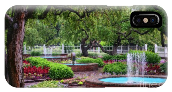 IPhone Case featuring the photograph Prescott Park by Sharon Seaward