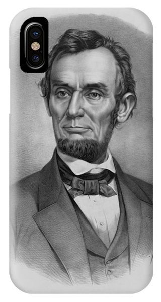 United States Presidents iPhone Case - President Lincoln by War Is Hell Store