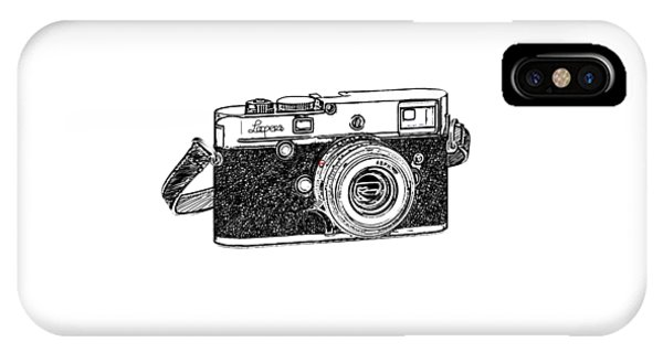 Rangefinder Camera IPhone Case