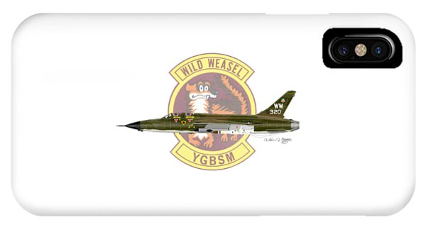 Republic F-105g Thunderchief 561tfs IPhone Case