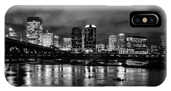 Richmond Skyline At Night IPhone Case