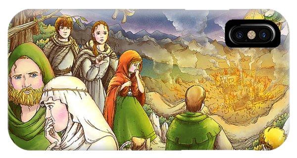 Robin Hood And Matilda IPhone Case
