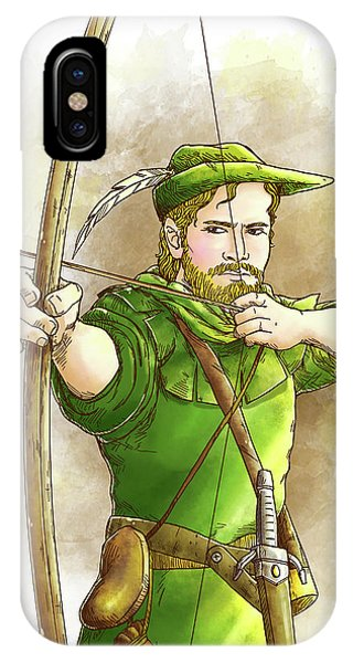 Robin Hood The Legend IPhone Case