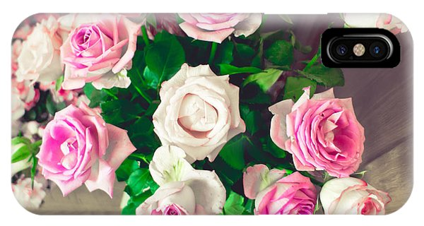 Wedding Gift iPhone Case - Roses by Tom Gowanlock