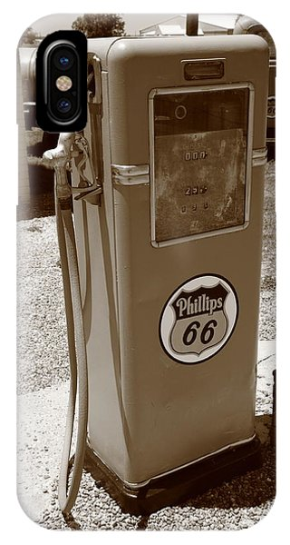 Route 66 Gas Pump IPhone Case
