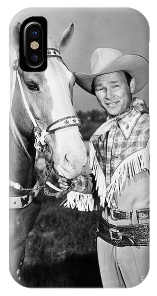 Roy Rogers IPhone Case