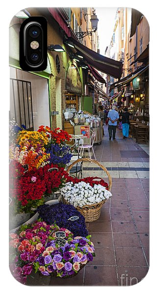 French Riviera iPhone Case - Rue Pairoliere In Nice by Elena Elisseeva