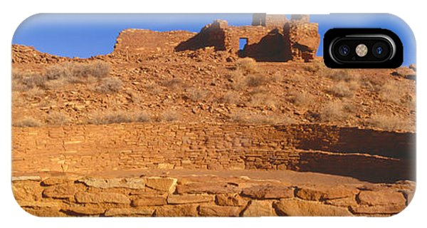 Indian Village iPhone Case - Ruins Of 900 Year Old Hopi Village by Panoramic Images