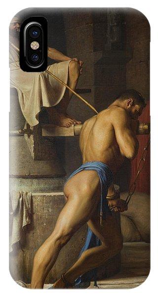 Samson And The Philistines IPhone Case